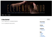 Eleventh Hour Movie Blog